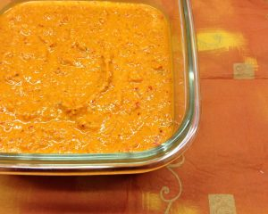 Paprika Erdnuss Chili Sauce