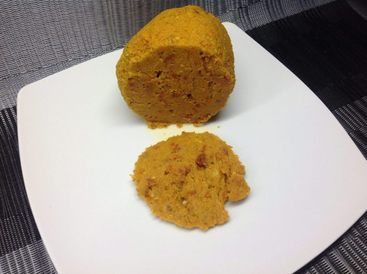 Veganer Käse: Cheddar Cheese Ball