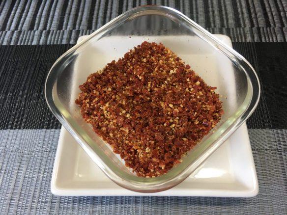 Pesto Rosso Crumble