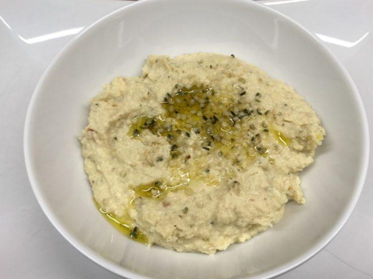 Blumenkohl Pastinaken Hummus