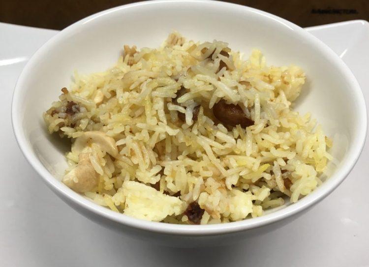 Aprikosen-Gewürz-Reis