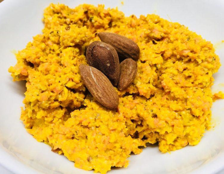 Karotten Dip mit Mandeln und Curry