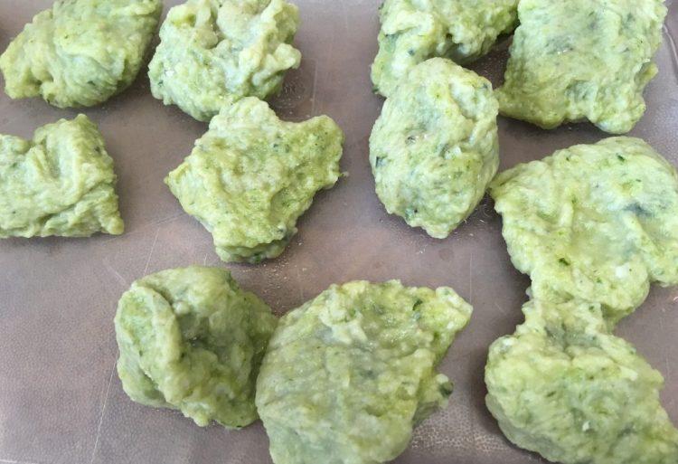 Bärlauch Gnocchi aus Kartoffeln
