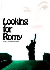 """Affiche provisoire """"Looking for Romy"""" - Court métrage d'Arnaud Delporte-Fontaine"""