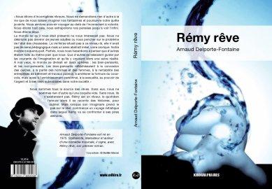 """Couverture de """"Rémy rêve"""" - Roman d'Arnaud Delporte-Fontaine"""