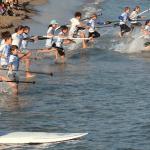 Salida Beach Race infantil