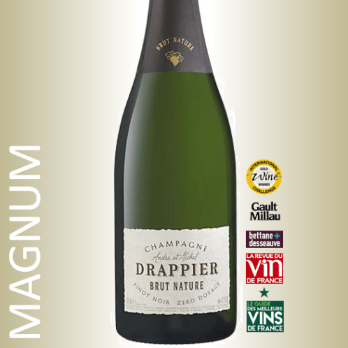 Champagne Drappier Brut Nature Magnum