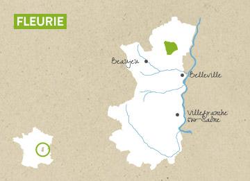 Carte Beaujolais Fleurie