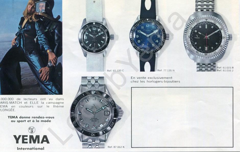 Publicité Magazine Yema - Superman Grise