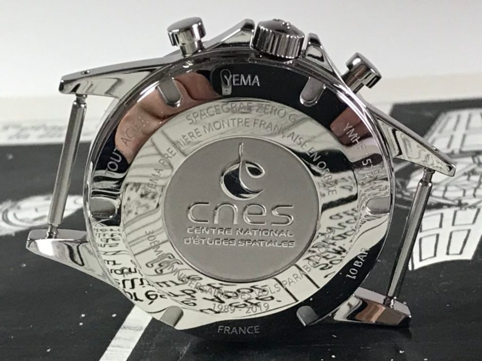 YEMA Spacegraf Zero-G_CNES Caseback with reflects_Copyright Jerry