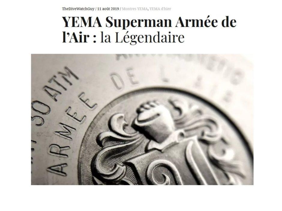 article yema superman armée de l'air