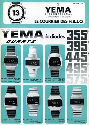 Cat_Collection YEMA 1976 | Courrier HBJO