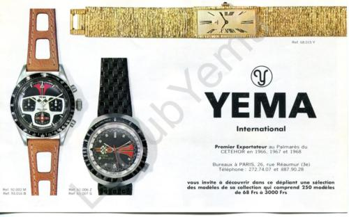 Cat_Collection YEMA 1969 | Rallygraf ; Yachtingraf ; Meangraf ; Superman grise