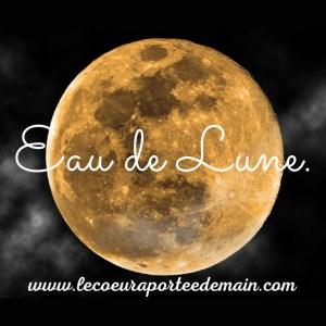 Eau de lune - Visuel