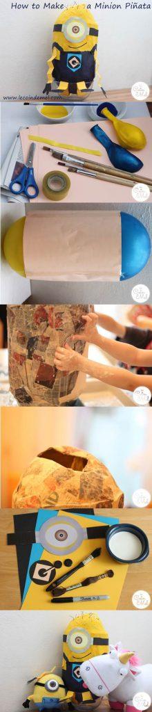 How to Make a Minion Piñata (Despicable Me)
