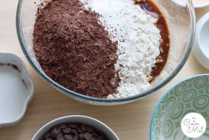 Vegan, Dairy Free, Egg Free, Nut Free Banana and Chocolate Muffins - Chocolate Flakes