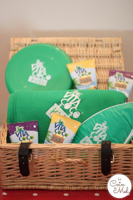 Autumn Picnic - Vita Coco Picnic Basket