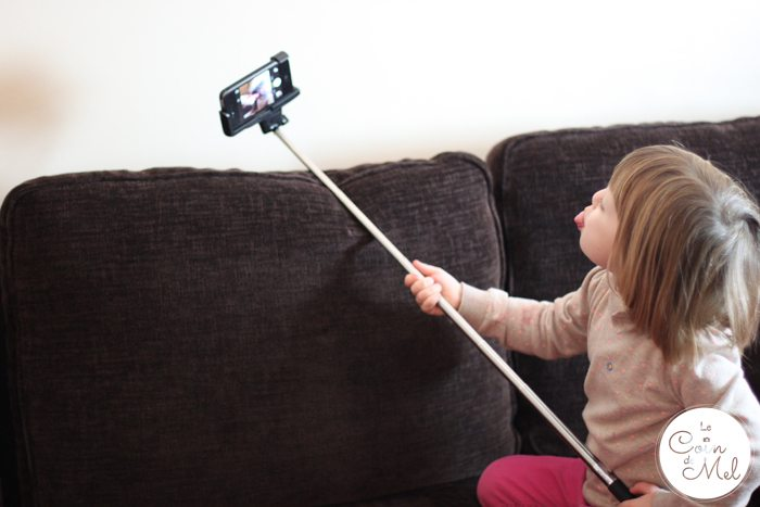 Selfie Stick Review - Beanie Pulling Faces