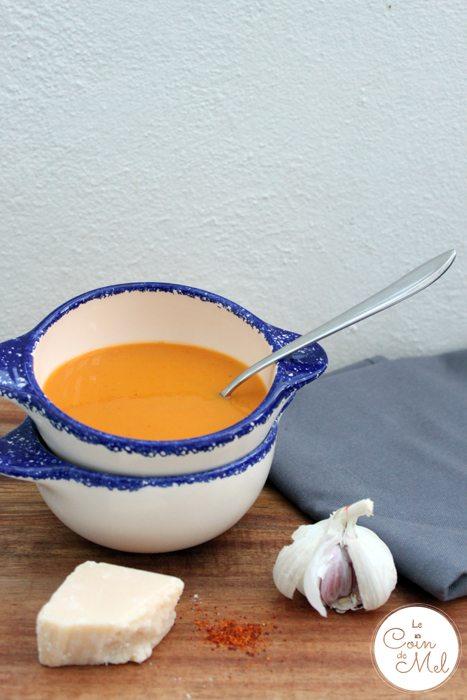 Butternut Squash & Sweet Potato Soup
