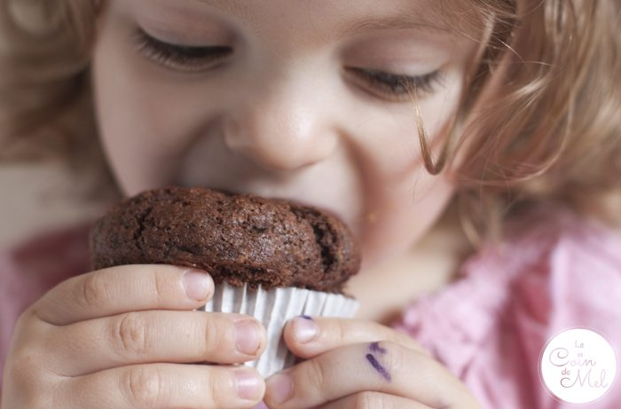 'Freefrom' Fudgy Chocolate Courgette Muffin