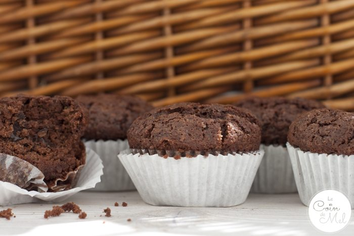 'Freefrom' Fudgy Chocolate Courgette Muffins
