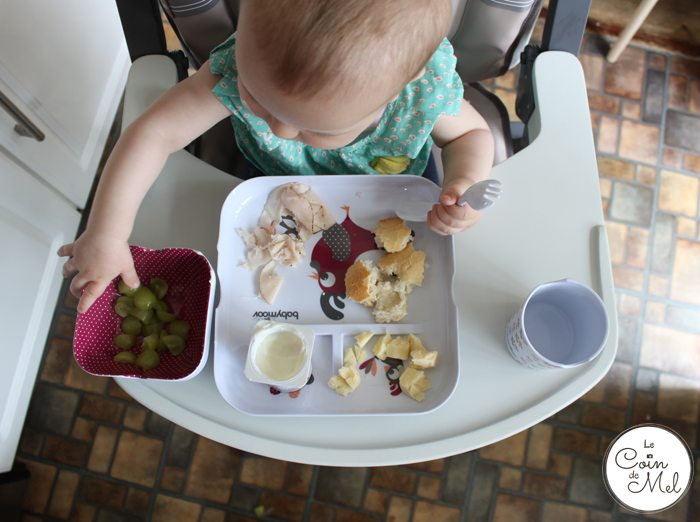 Wriggly is pro baby-led weaning