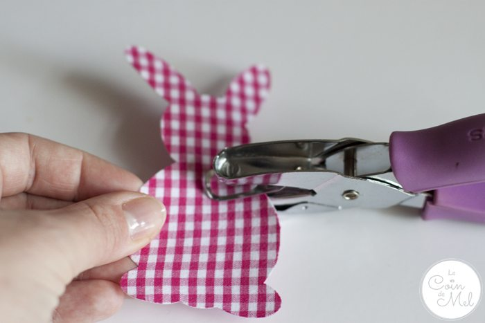 Funky Bunny Garland for Easter -
