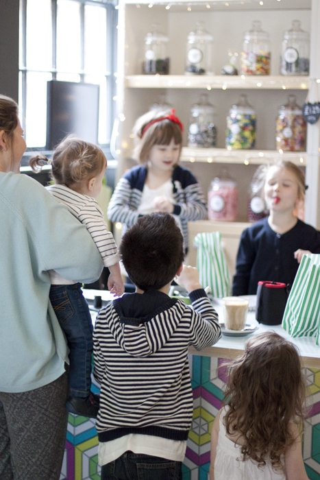 Sweet as a Button - a Sweet Shop Not Like Any Other - playing shopkeepers