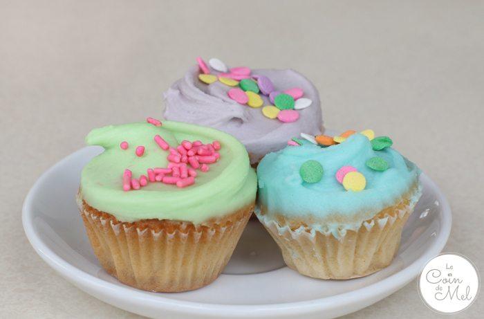 Fast Cars, Yummy Cupcakes & Two Happy Kids - Primrose Bakery - Mini Vanilla Cupcakes