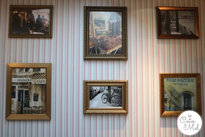 Hampstead, A Little Bit of France in the Heart of London - Maison Blanc - on the walls