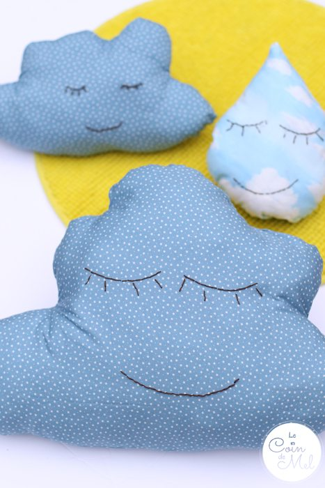 Quick & Easy Crafts -  Cloud Cushions