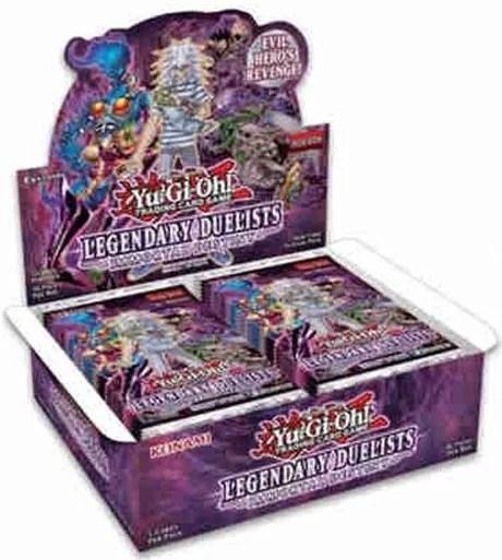 Boite de 36 Boosters Yu-Gi-Oh! Duellistes Légendaires : Destinée Immortelle – VF