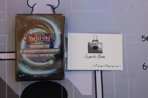Paquet de 60 pochettes WCQ 2018 – Championnat de France / Championnat d'Europe