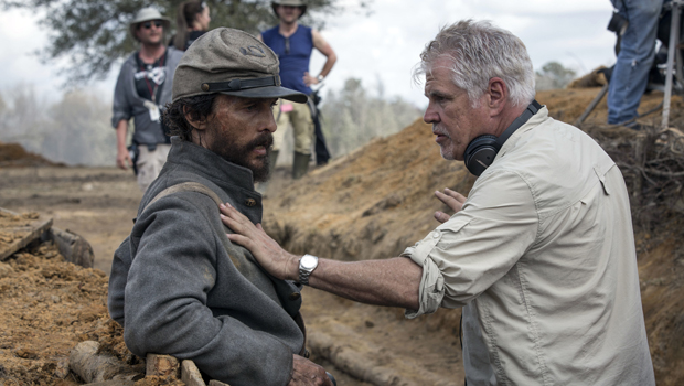 BTS: Matthew McConaughey and Gary Ross discuss a scene in the bunker