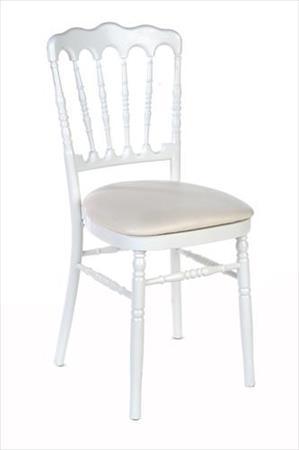 lot de 300 chaises napoleon blanches d