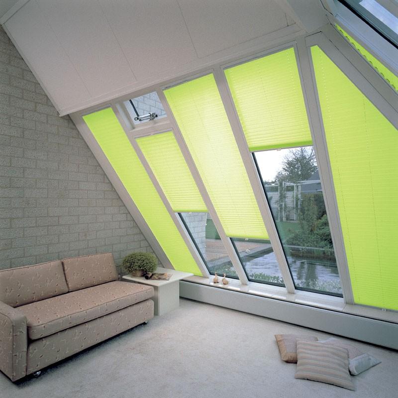 store plisse pour velum de toit et
