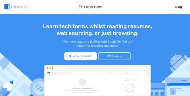 glossary tech outil pour apprendre le code recruteur