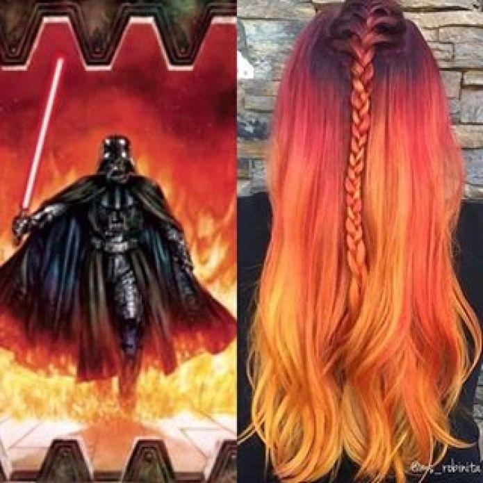 les 10 colorations galaxy hair préférées du web