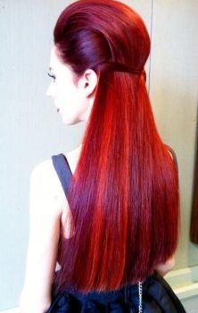Comment se colorer les cheveux en rouge, lecoloriste