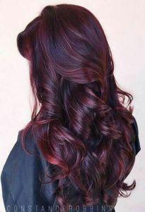Cheveux acajou-Mahogany hair, lecoloriste