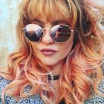Peachy is the newest hair color movement this season, lecoloriste