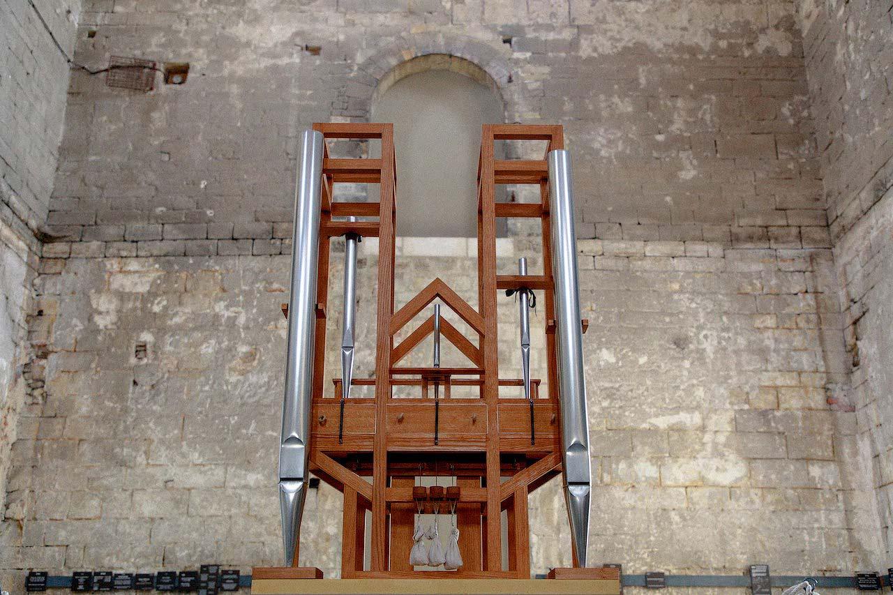 Photographie de l'orgue utilisé pour l'oeuvre ASLSP