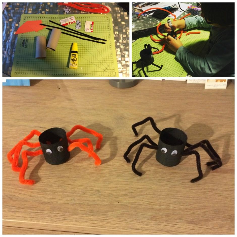 montage araignées