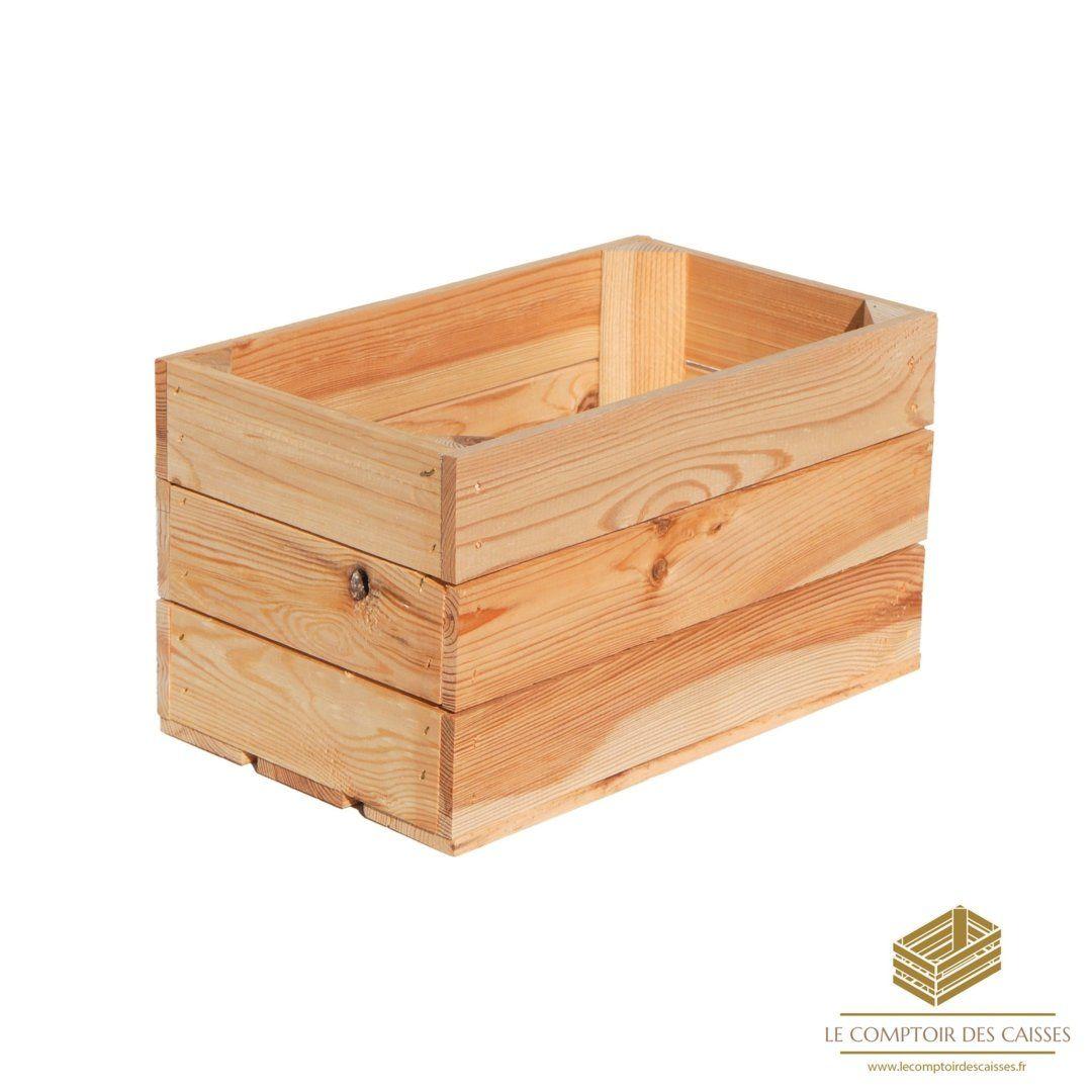 la caissette a pommes brute neuve sans poignee