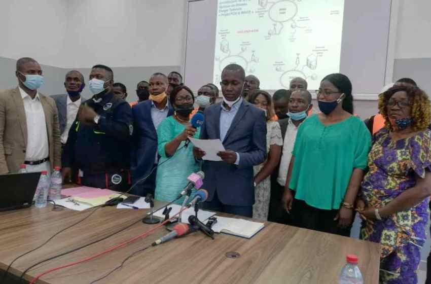 Les travailleurs de Congo télécom exigent le retrait du contrat de concession de la fibre optique à un privé