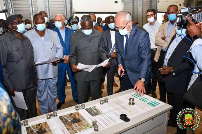 L'usine de fabrication de tracteurs agricoles de la ZES de Maloukou opérationnelle début 2022