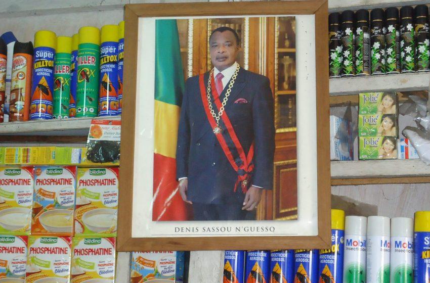 Rien qu'à Poto Poto le protocole présidentiel gagne 150 millions cfa sur la vente de l'effigie de Sassou Nguesso