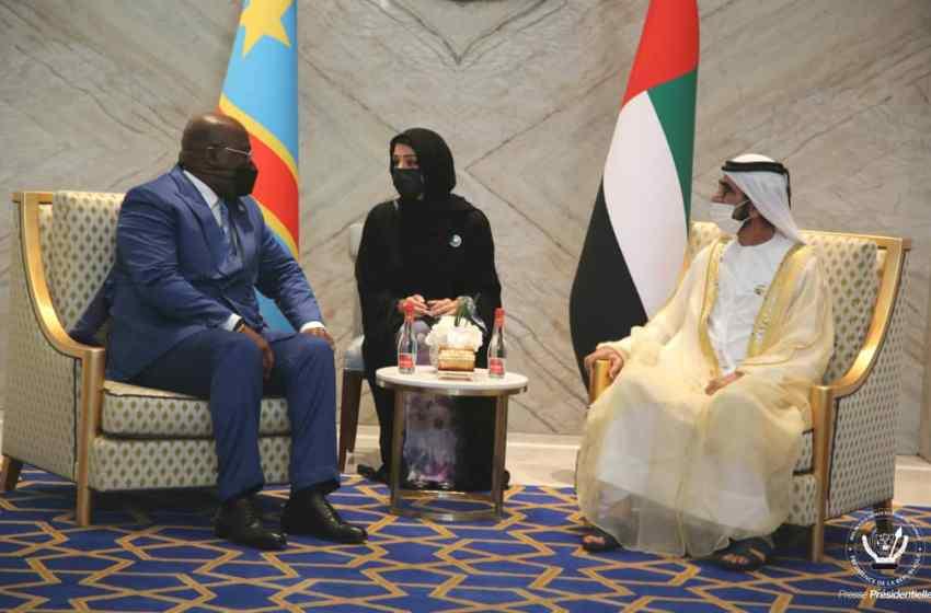 En visite aux Emirats Arabes Unis : Félix Tshisekedi ramène sept protocoles d'accord