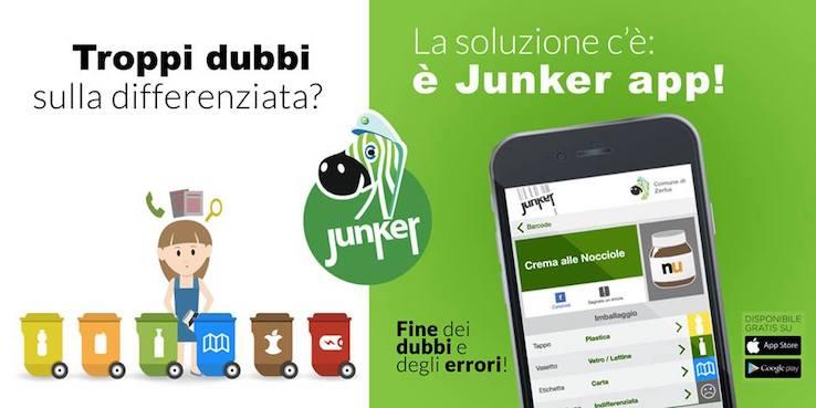 Junker app: e la raccolta differenziata non è più un problema