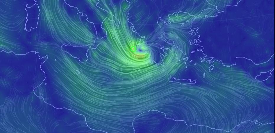 Medicane: l'uragano mediterraneo minaccia l'Europa